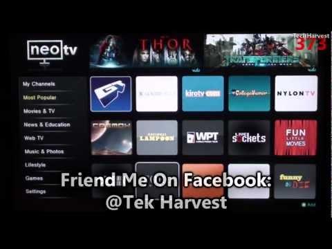 Netgear NeoTV Pro Streaming Player NTV200S: Walkthrough & First Time Power Up