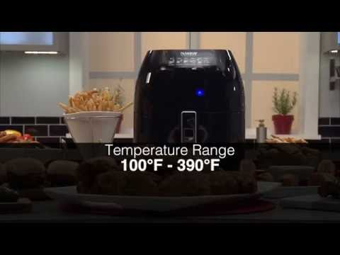 NuWave Brio Digital Air Fryer Setting The Cooking Temperature & Time