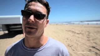 Oliver Lang Behind the Scenes Interview at Huntington Beach - Sunday Club