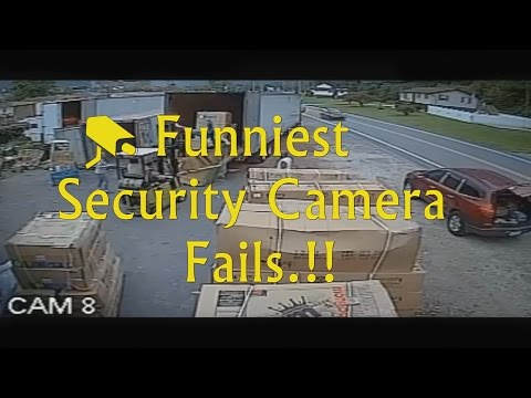 Funniest Security Camera Fails Compilation  ► [CCTV] from Hacky's Tv