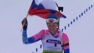Триумфом российских юниоров завершился Чемпионат мира по биатлону в Швейцарии