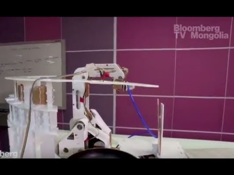"""""""Карри"""" бэлтгэдэг робот"""