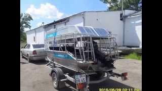Алюминиевые лодки Казахстанского производства обзор моделей казбот