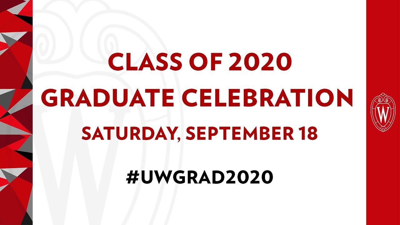 Class of 2020 Graduate Celebration
