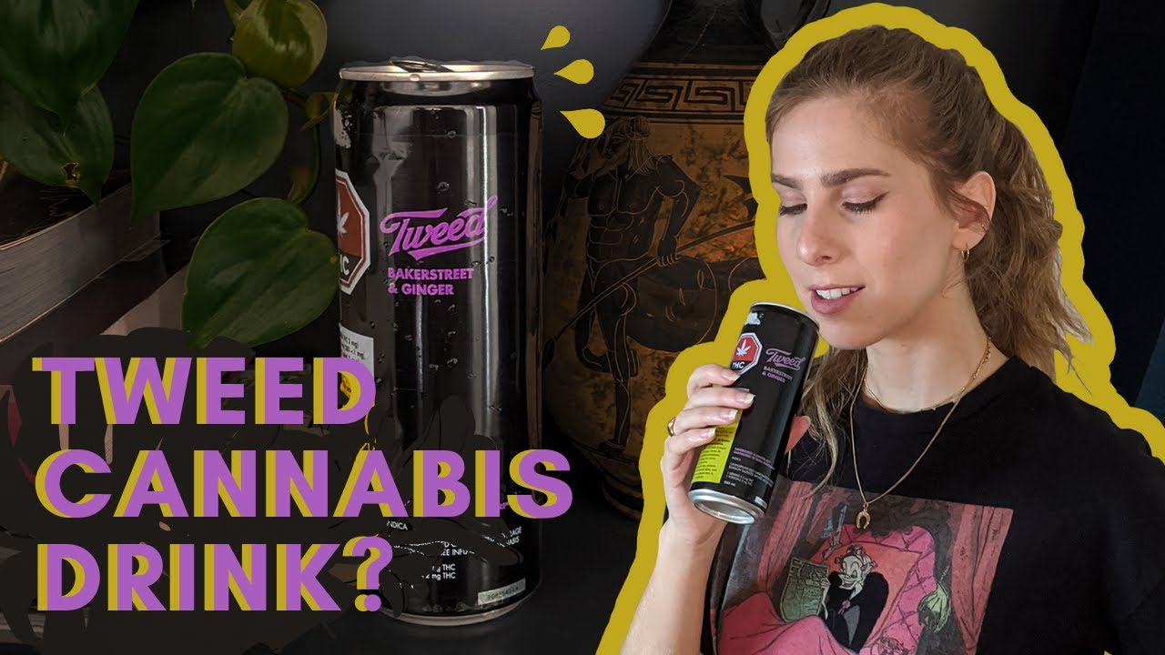 Tweed Bakerstreet & Ginger Ale Cannabis Drink Review (19+ to view)