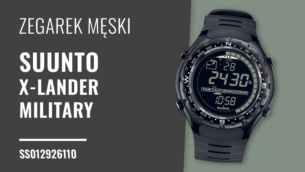 Zegarek Suunto X Lander Military Ss012926110 Zegarownia Pl