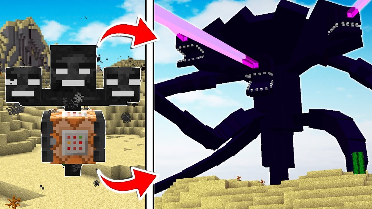 LIFE OF THE WITHER STORM MINECRAFT BOSS ...