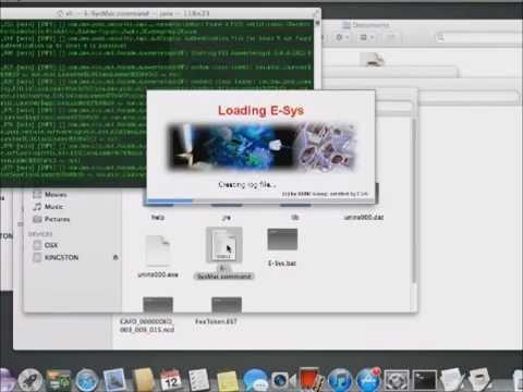 E-Sys 3 24 3 running on OSX