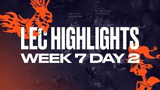 Full Day Highlights | W7D2 | 2021 LEC Summer