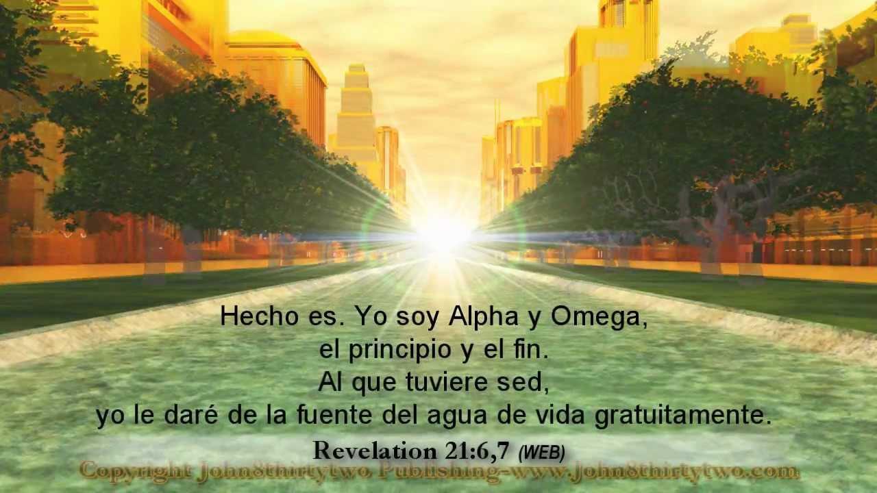 Nueva Jerusalén,Apocalipsis 21, 22, revelación,español