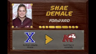 Shae Demale - CSSHL to USports | Stand Out Sports Client Hall of Fame