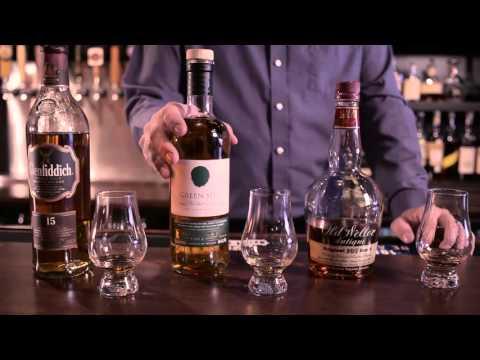 Bourbon, Irish Whiskey and Scotch