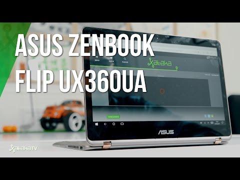 Asus Zenbook Flip UX360UA, análisis review en español