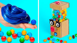 BUBBLE GUM!!   How To Make a Homemade Gum And DIY Gumball Machine