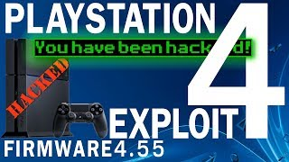 Playstation 4 Exploit FW 4.55 - Updating to 4.55 and self hosting