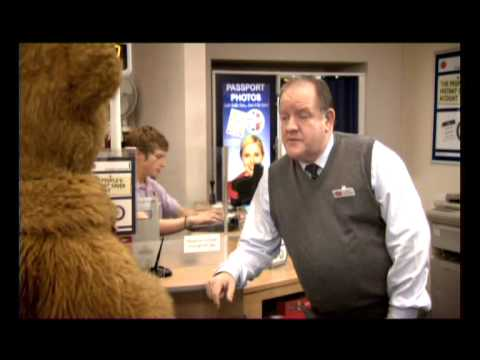 Bungle bear ray mears post office youtube - Post office working today ...