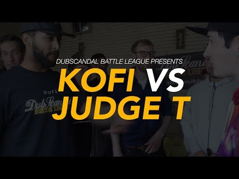 KOFI VS JUDGE T | DubScandal Rap Battle