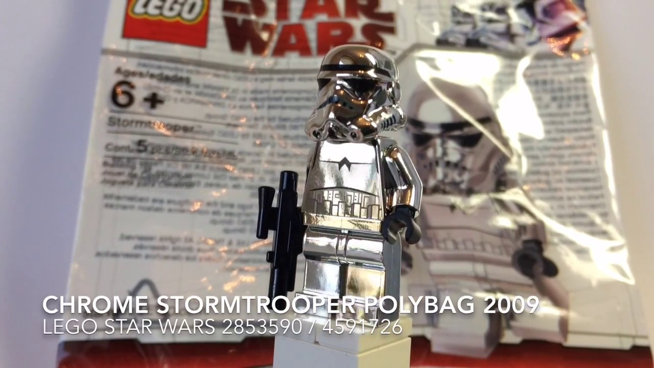 Lego Star Wars Chrome Stormtrooper polybag 2009   YouTube Lego Star Wars Chrome Stormtrooper polybag 2009