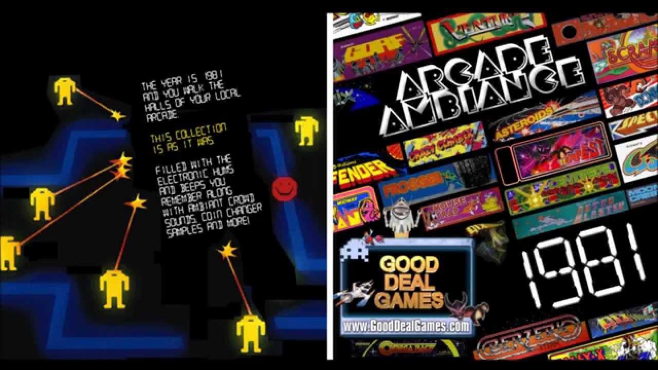 Arcade Ambience 1981 (Arcade sounds) - Andy Hofle
