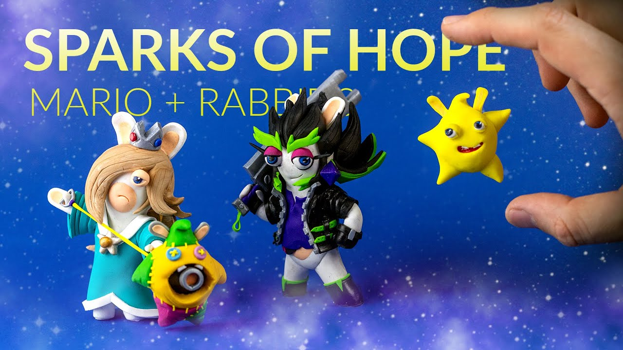Creating the NEW RABBIDS with clay – Mario + Rabbids: Sparks of Hope