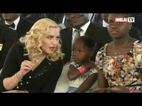 Madonna inaugura un hospital en Malawi creado por su fundación | La Hora ¡HOLA!