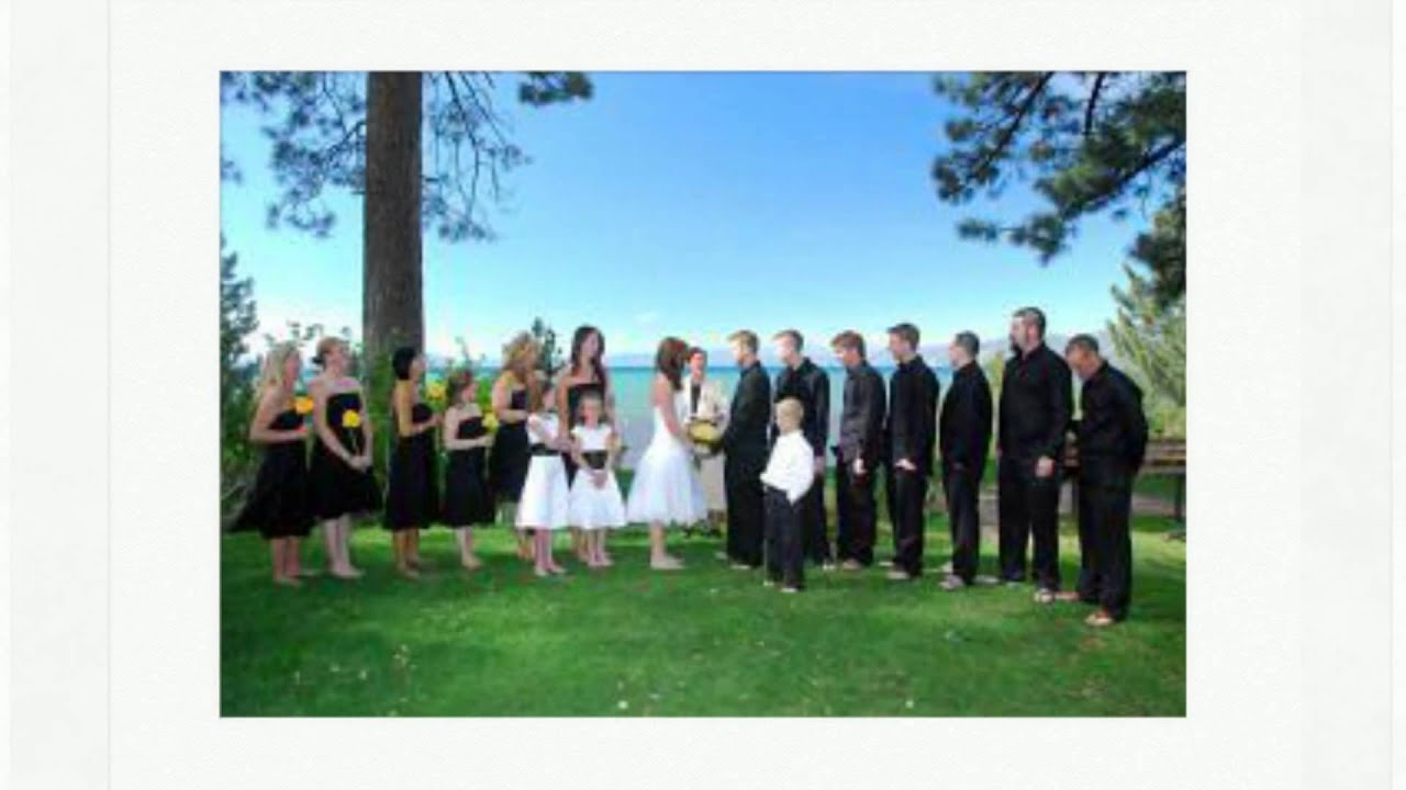 Regan Beach Wedding In Lake Tahoe High Mountain Weddings