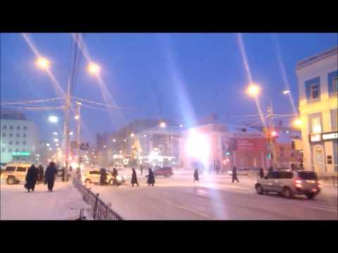 Good morning from Yakutsk, Yakutia, Russia's Siberia