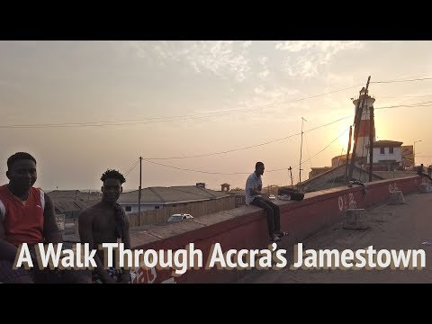 A Walk Through Accra's Jamestown, Ghana