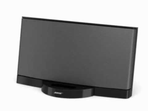 bose sounddock series ii 30 pin ipod iphone speaker dock discount review youtube. Black Bedroom Furniture Sets. Home Design Ideas