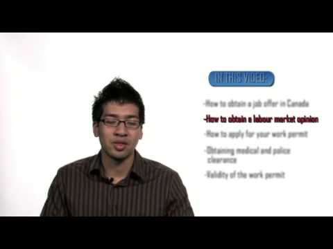 HOW TO GET A CANADIAN WORK PERMIT