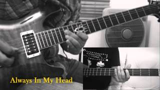 Always In My Head - How to play original guitar/bass intro (with TAB)