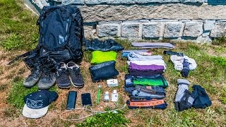 MINIMALIST TRAVEL GEAR: WHAT TO BRING: TRAVEL TIPS