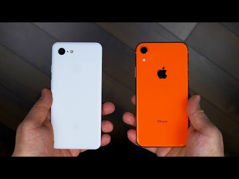 Что выбрать IPHONE XR или GOOGLE PIXEL 3?