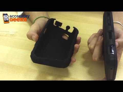 Samsung Fascinate i500 Ballistic Case and Holster