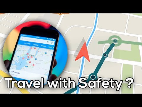 How To Use Stay Safer Feature : What To Do When Taxi Goes Off Route : Google Maps