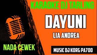 DJ DAYUNI || VERSI KAROKE REMIX DAN LIRICK || KORG PA700