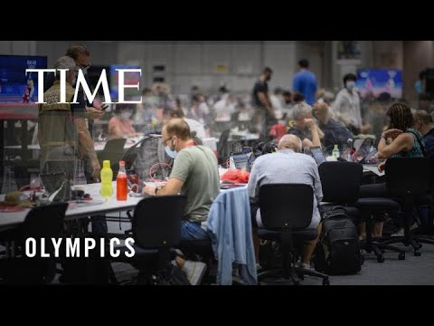 What It's Like to Be In the Tokyo Olympics COVID-19 Bubble | TIME