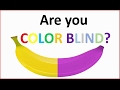 watch he video of Are you colorblind? - How good are your eyes - Brain test 2017