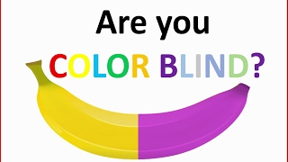 Are you colorblind? - How good are your eyes - Brain test 2018