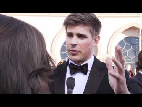 Chris Lowell at the SAG Awards