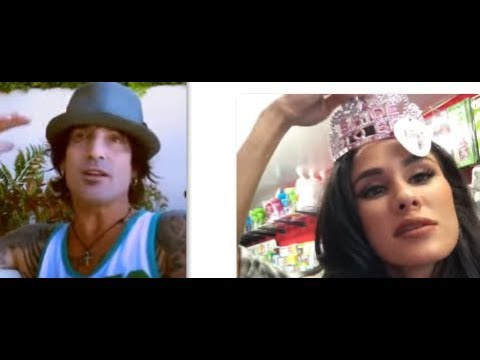 Motley Crue's drummer Tommy Lee marries Brittany Furlan on Valentines Day...