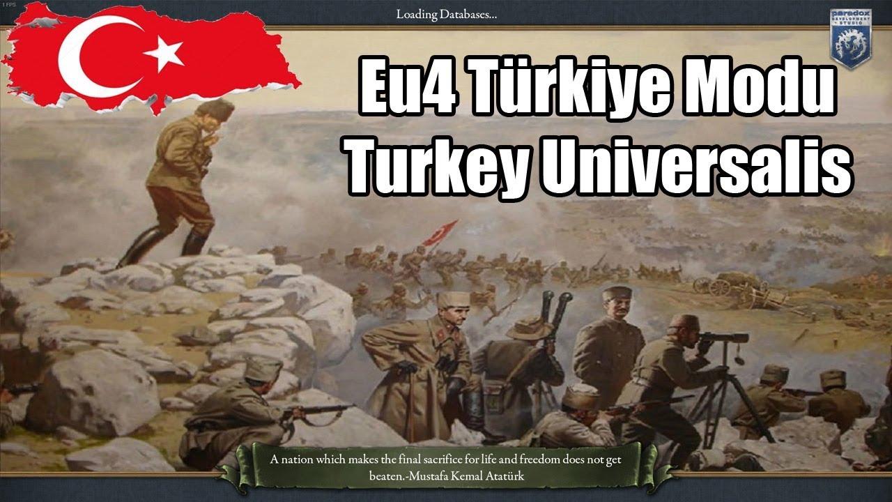 TURKEY UNIVERSALIS - Eu4 Türkiye Mod Tanıtımı