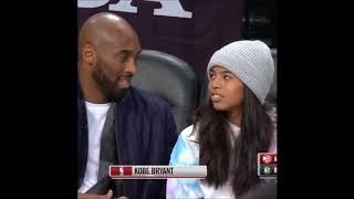 Kobe Bryant Courtside Moments with Luka and Lebron, Speaks In Slovanian to Luka!