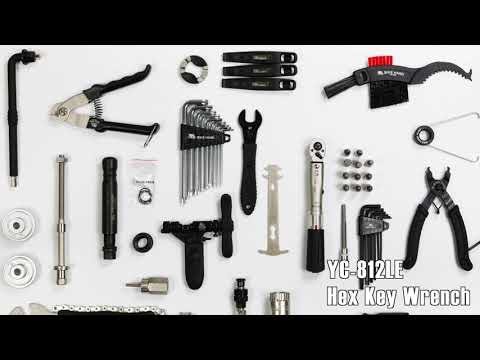 How to use BIKEHAND YC-799AB Complete Bike Repair Tool Kit with Torque Wrench