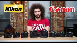 One of Jared Polin's most viewed videos: Nikon VS Canon Which To Buy: The ULTIMATE Battle