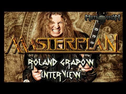 MasterPlan Novum Initium Live [SUB ESP] Roland Grapow Interview by Metalovision | Granito Rock 2014