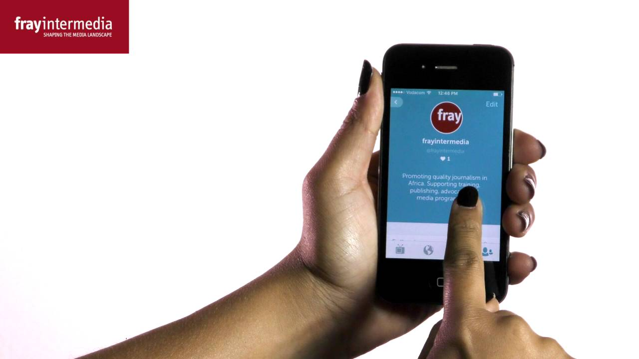 Social Media for Journalists - Introduction to Periscope
