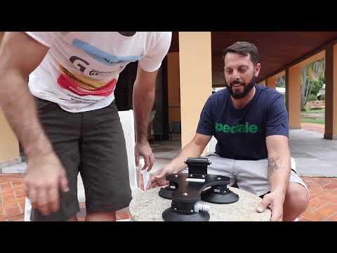 Unboxing do novo modelo do Rack de ventosa The One | Vlog