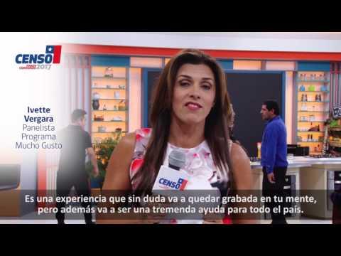 Ivette Vergara te invita a participar en el Censo 2017