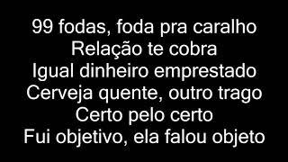 Baixar Baco Exu Do Blues - Te Amo Disgraça (letra)